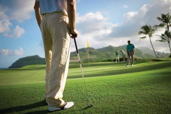 Make time for golf on your Hawaii cruise