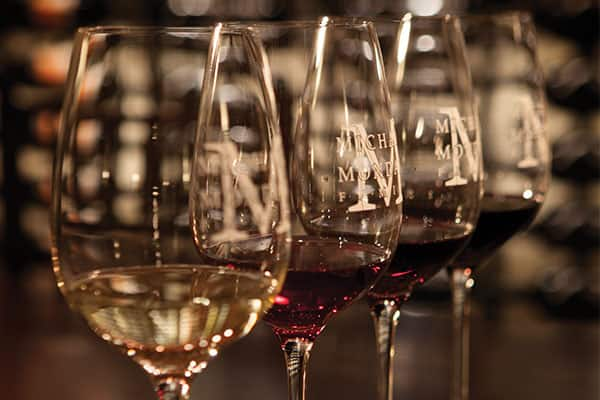 Try the best blends at Mondavi Wine Bar