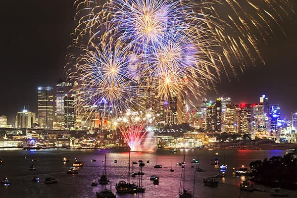 New Years in Australia