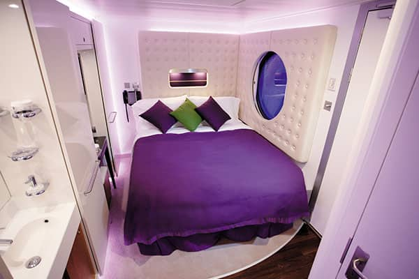 Cabine studio sur le Norwegian Epic