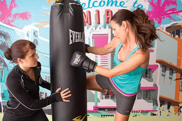 Kickbox on board your cruise