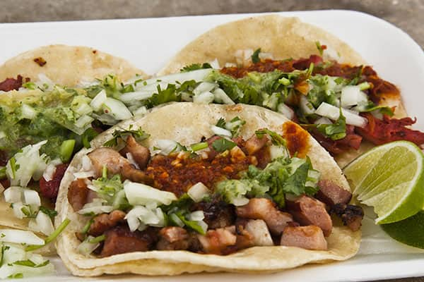 Savory tacos on your Caribbean cruise