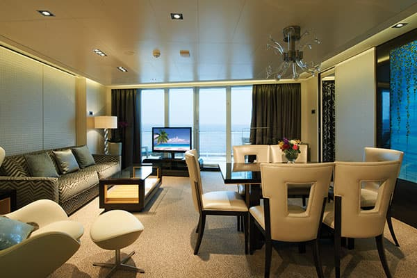 Deluxe Owner's Suite avec grand balcon