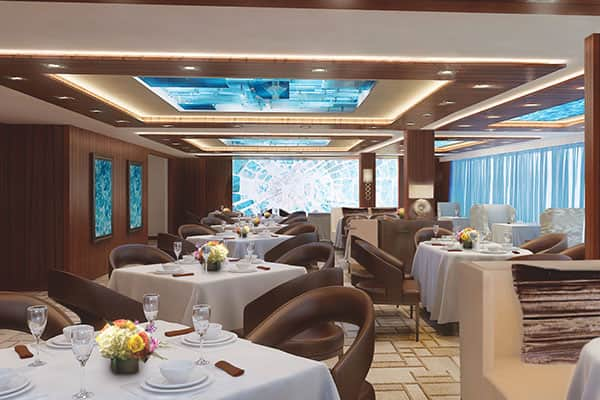 Restaurant Le Haven sur le Norwegian Escape