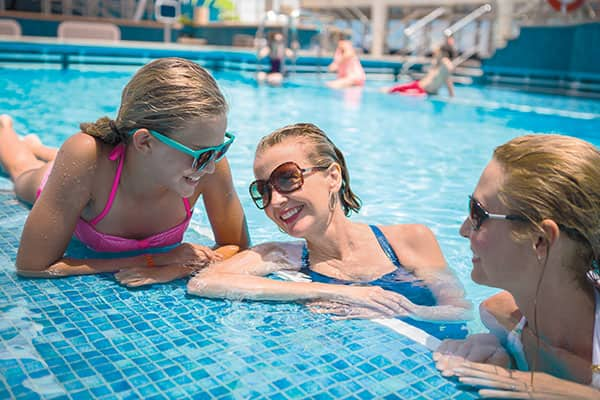 Hit the Pool on your Family cruise