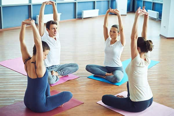 Yoga onboard a Norwegian cruise