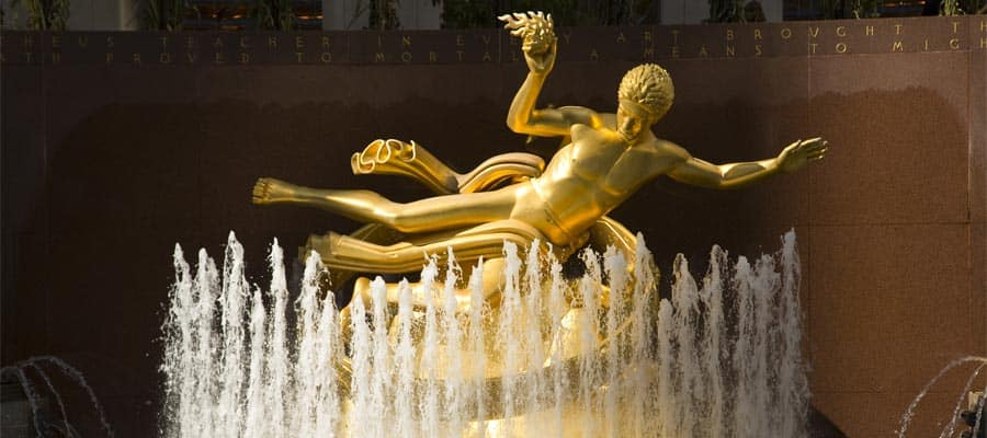 Visit Rockefeller Centre on your cruise to New York