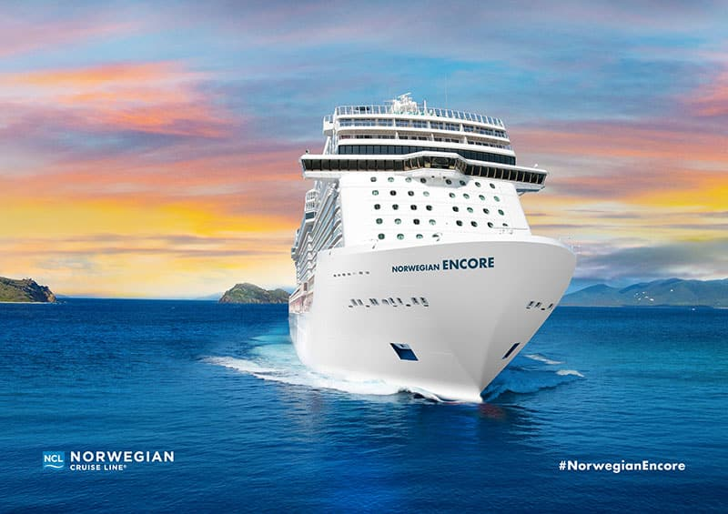 Norwegian Cruise Line Announces New Ship: Norwegian Encore