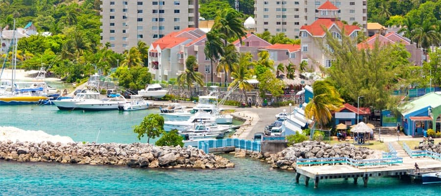 Town Centre on your cruise to Ocho Rios