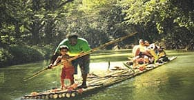 Bamboo Rafting on the Martha Brae River