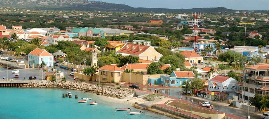 Vue aérienne d'Aruba