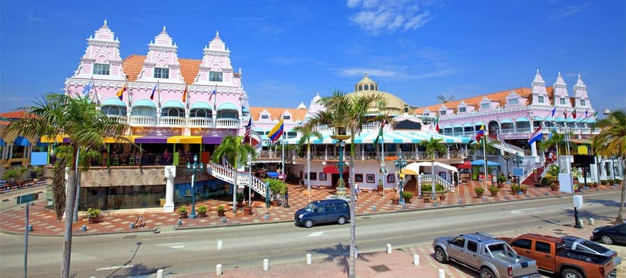 Cruise to the Caribbean and shop in Oranjestad