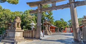 Sumiyoshi Taisha Shrine
