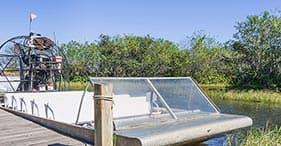 Aventura en hidrodeslizador - Finaliza en el aeropuerto