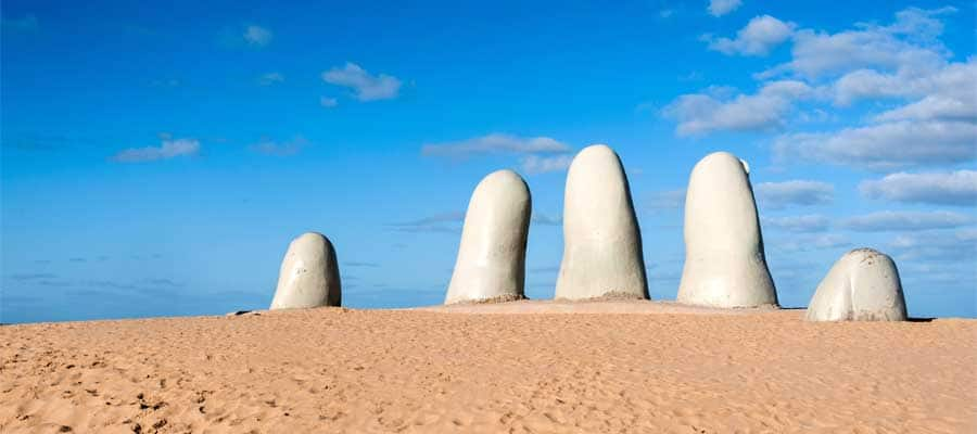 Sculptures in Punta Del Este