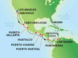 16-Day Panama Canal from Miami