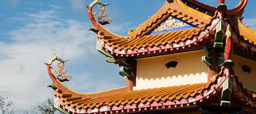 Kek Lok Si Temple on Penang Cruises