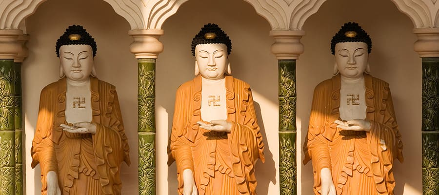 Buddha Statues on Penang Cruises