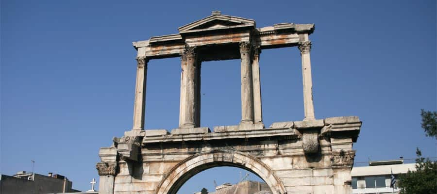 Hadrian's Arch on your Athens cruise