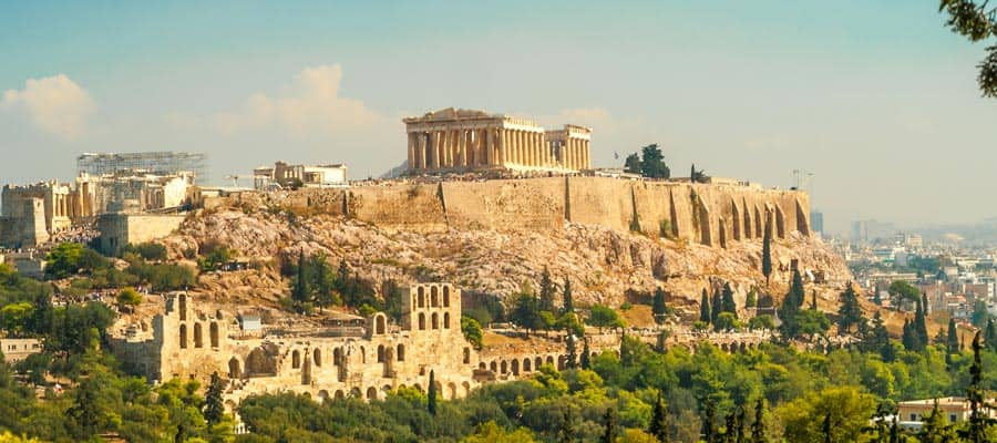 Acropolis of Athens on your Europe cruise