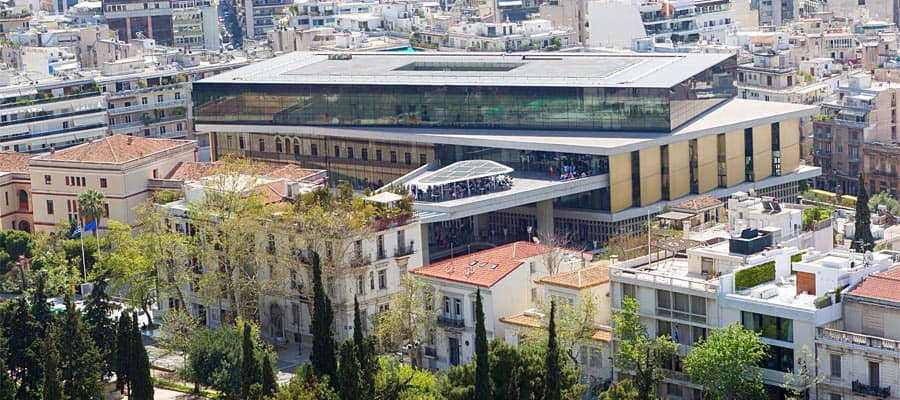 Acropolis museum on your Europe cruise