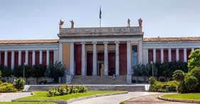 L'Acropole et le musée archéologique.