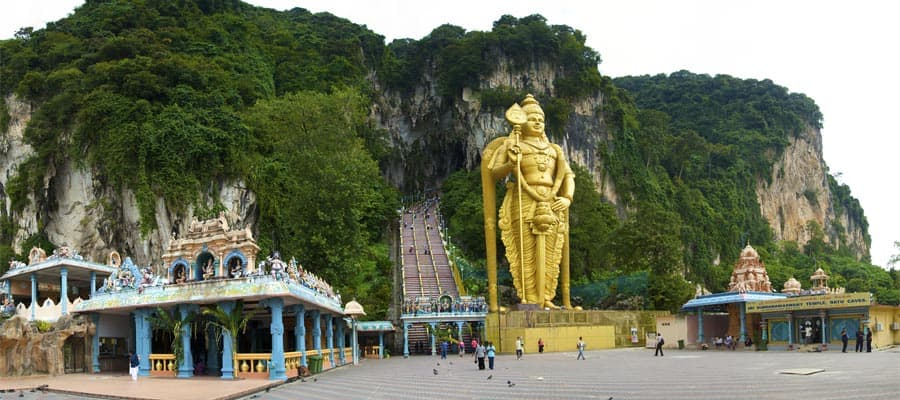 Batu caves temple in Port Klang Cruises