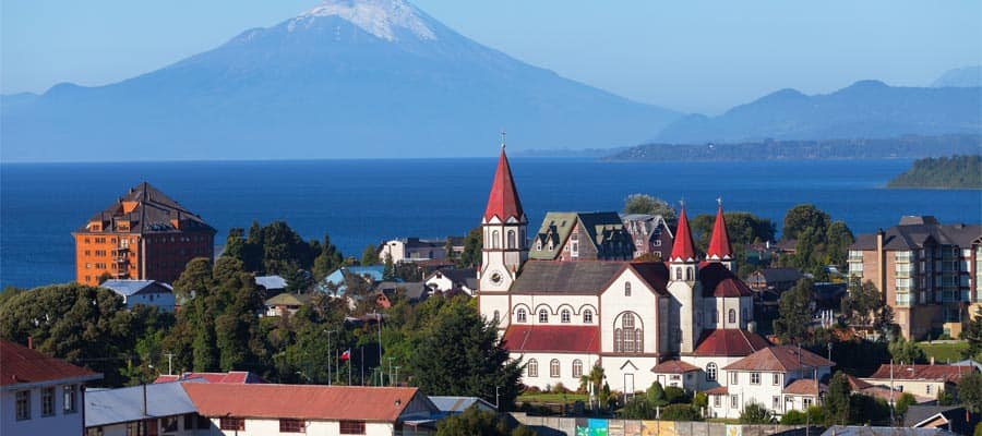 View Puerto Varas on our South American Cruises
