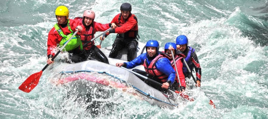 Rafting in Puerto Montt