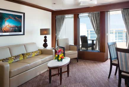 Suites a bordo del crucero Pride of America de Norwegian