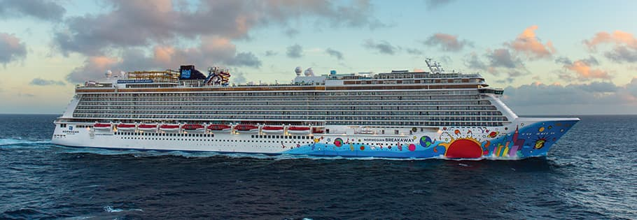 Veja o sul do Caribe a bordo do Norwegian Breakaway