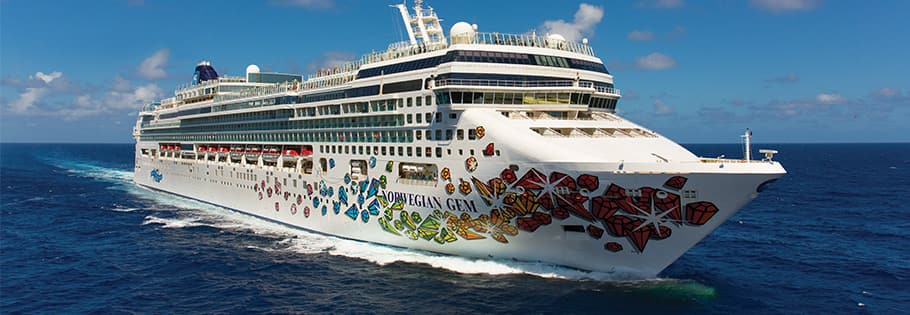 See the Southern Caribbean on board Norwegian Gem