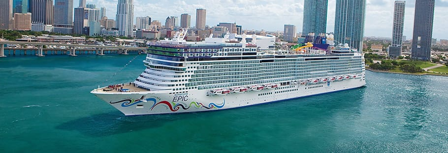 Cruzeiro no oeste do Caribe no Norwegian Epic