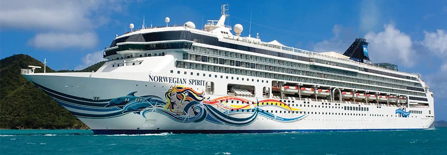 Oeste do Caribe no Norwegian Spirit