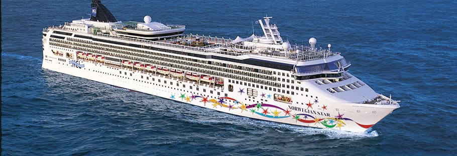 Cruzeiro no oeste do Caribe no Norwegian Star