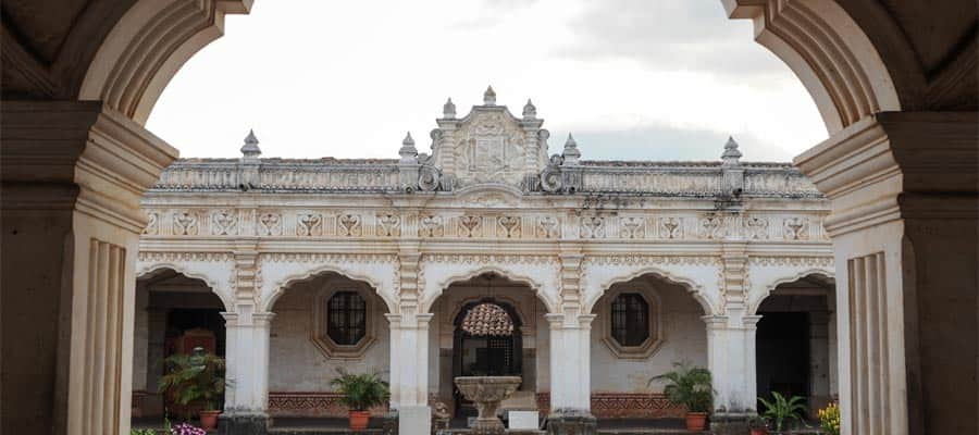 Colonial art museum of Antigua
