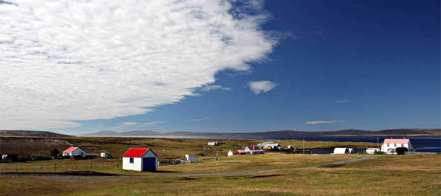 Blue Skies on your Falkland Island cruise