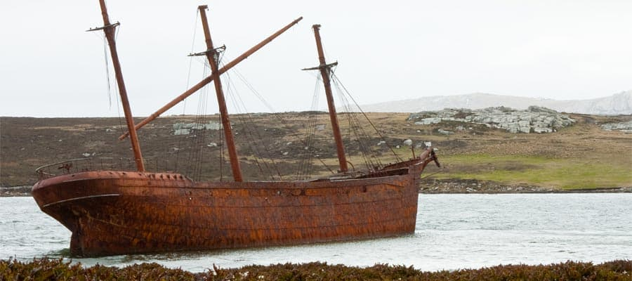 Wreck of the Lady Elizabeth