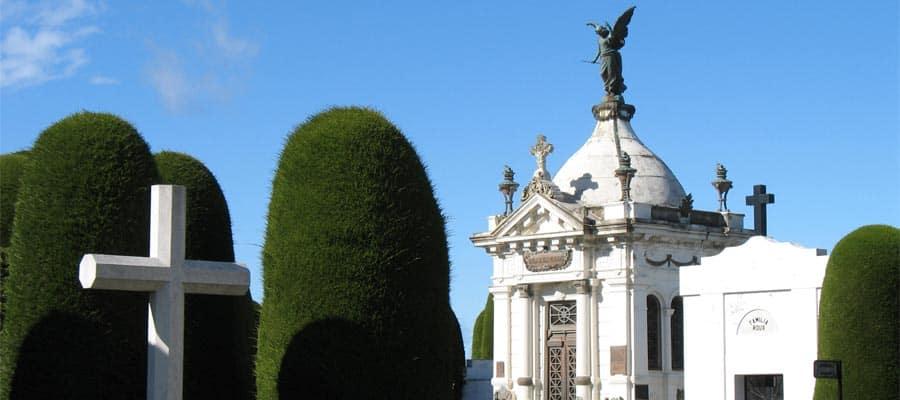 Atravesse o cemitério de Punta Arenas