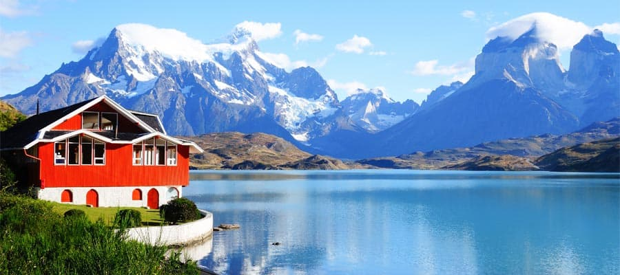 Marvel at landscapes on our cruises to South America