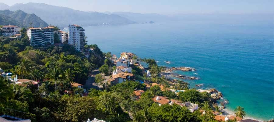 Beautiful Coastlines on your Cruise in Puerto Vallarta