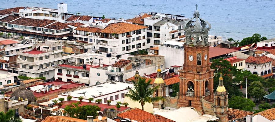 Puerto Vallarta on your Mexican Rivera cruise