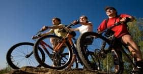 Avventura in bicicletta fuoristrada
