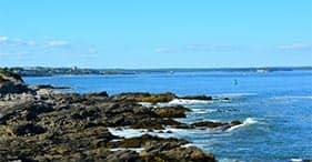 Recorre la costa de Maine en bicicleta y a pie