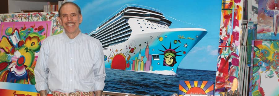 Norwegian Breakaway Hull Artist, Peter Max