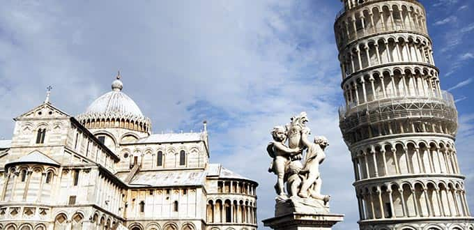 You'll lean toward loving the landmarks of Pisa.