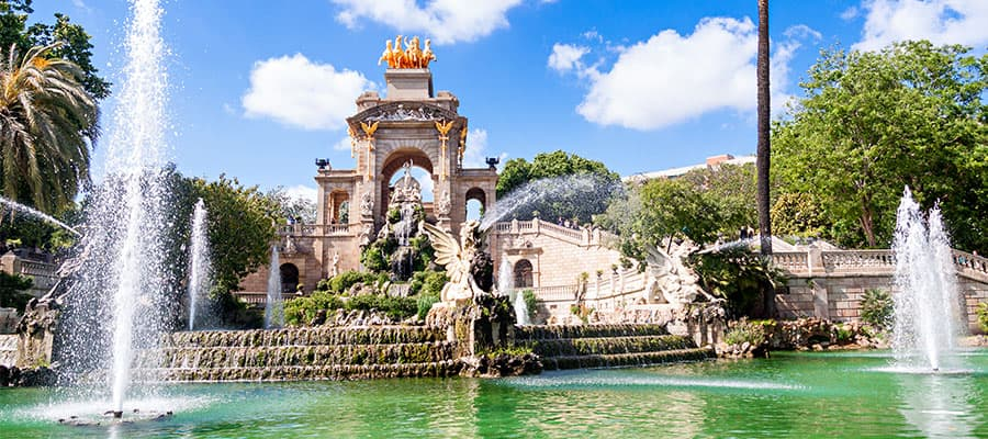 Visit Parc de la Ciutadella on your Europe cruise