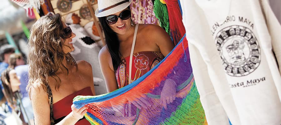 Shop in Costa Maya on your Caribbean cruise