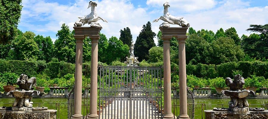 Giardino di Boboli durante la tua crociera in Europa