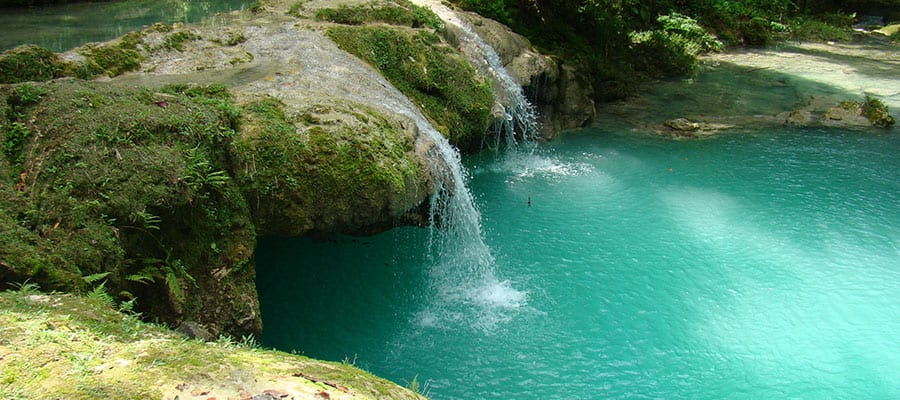 Blue Hole on your Ocho Rios cruise